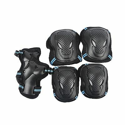 Kid's Bike Knee Pads and Elbow Pads with Wrist Guards Protective Gear Set... New