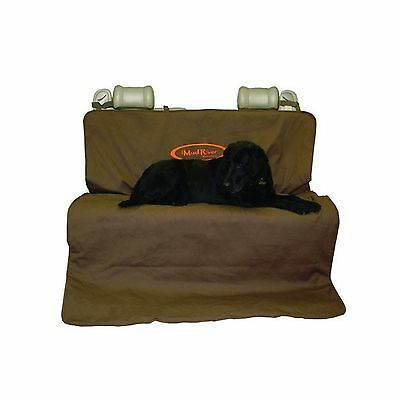 Mud River Two Barrel Double Seat Cover Brown X-Large New