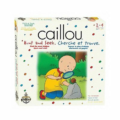 Caillou Hunt & Seek Game White New