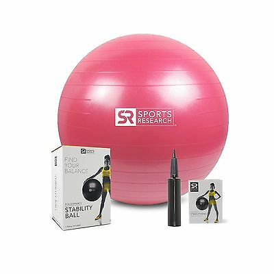 Stability Ball (Pink 65cm) Pink New