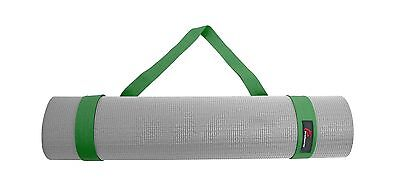 "ProSource Yoga Mat Cotton Sling Carry Strap 96.5 cm (38"") Green 60-Inch New"