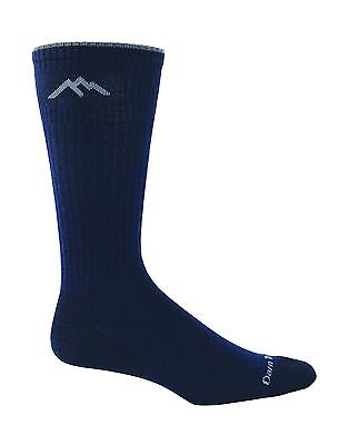 Darn Tough Vermont Merino Wool Dress Crew Light Sock Navy medium (8-9.5) New