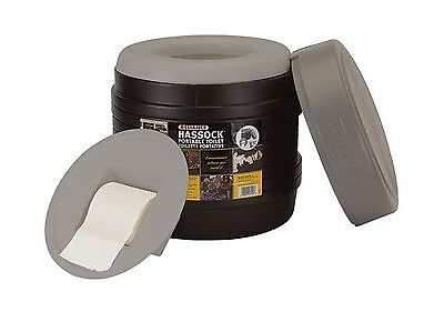 Reliance Products Hassock Portable Lightweight Self-Contained Toilet (Col... New