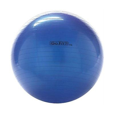 GoFit Blue 75 cm Standard Stability Ball for Yoga Fitness Balance Exercis... New