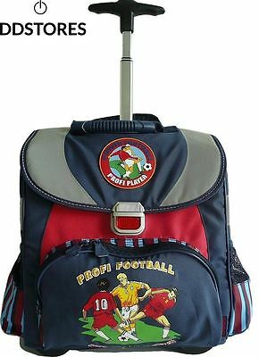 Amaro 3111 70 79 Football Cartable enfant Bleu 34 x 38 5 17 cm