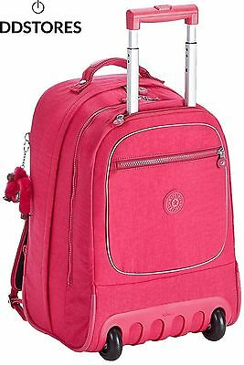 Kipling CLAS SOOBIN L Grand sac à dos Cherry Pink Mix Rose