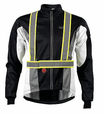 Touring/Commuter/Road Bicycle Reflective Braces/Bretelle/Cyclist safety harness