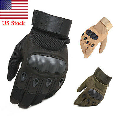 US Army Tactical Gloves Outdoor Sports Full Finger Combat Motocycle Slip Resist