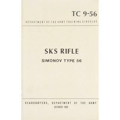 SKS Rifle Siminov Type 56 Manual - Headquarters/Department Of The Army October 1