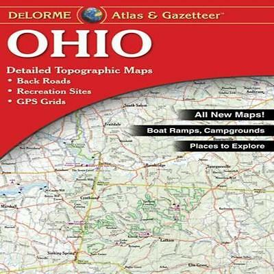 Delorme Ohio Atlas - Categories Include: Hiking/Bicycling/Canoeing/Kayak