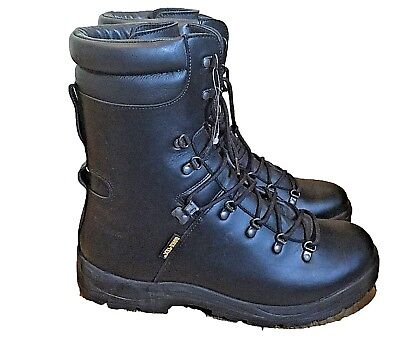British Army Surplus Black Extreme Cold Weather Goretex Military Boots