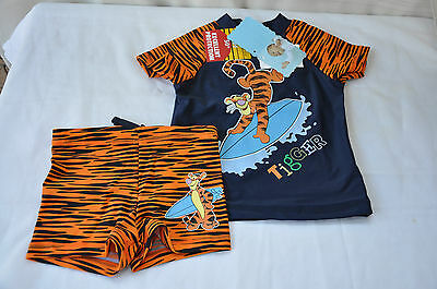 Baby Boy's Swimmers Size 0 Tigger Bnwt Upf 50+