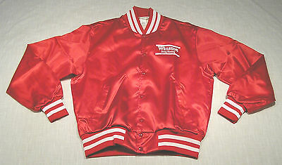 Vintage WINSTON Drag Racing Nylon Jacket (70s/80s) GAS/OIL/HOT ROD Near MINT! M