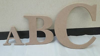 Extra Large and Giant MDF Letters - Choices of 6mm or 18mm, Fonts and Heights