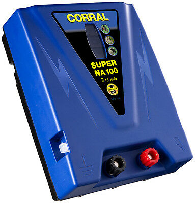 Corral Super Na 100 Duo Rechargeable Battery Unit - 12V - Fencing