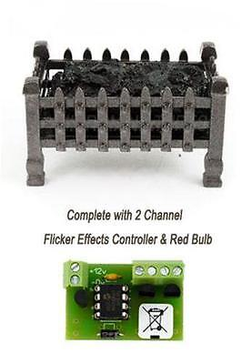 Coal Fire Grate with Electronic Flicker Controller (00985)