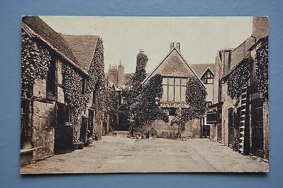 R&L Postcard: Shakespeare Hotel Stratford-on-Avon Stable Yard