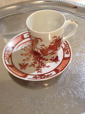 House Clearance Find Vintage Oriental tea cup and saucer