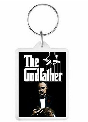 The Godfather Key Ring 50mm x 35mm. Donation made to Charity.