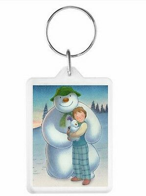 The Snowman and the Snowdog Key Ring 50mm x 35mm. Donation made to Charity.