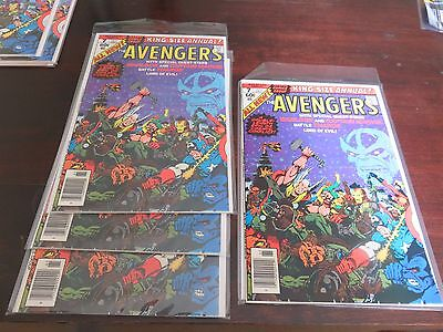 Avengers Annual #7 (1979) VF+++ several avail NO DAMAGE just factory cut error!