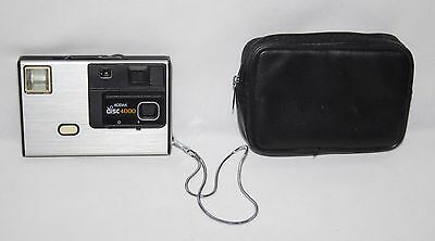 Kodak Disc 4000 - 1982 Disc Camera - In Case With Film - Working