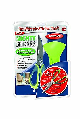 Spark Innovators Mighty Shears One Size Green & Grey New