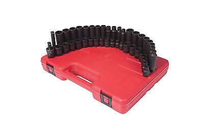 Sunex 3342 3/8-Inch Drive Master Impact Socket Set 42-Piece New