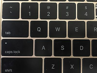 Apple Macbook A1534 Individual Key Replacement Keyboard - Used - W/ Butterfly