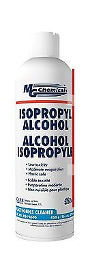 MG Chemicals 99.9% Isopropyl Alcohol Liquid Cleaner 16oz Aerosol Can Clear New