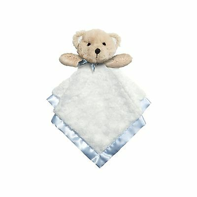 CRG Baby Dumpling Heaven Sent Plush Snuggle Bear Blankie Boys Blue New