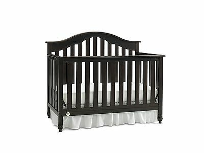 Fisher Price Kingsport Convertible Crib with Just the Right Height Espresso New