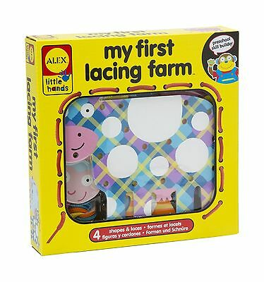 ALEX Toys - Early Learning Lacing Farm 1457M New