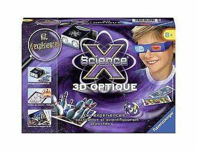 Ravensburger Science X Mini-3D Optique (Franais/French) New