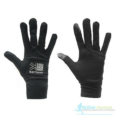 Karrimor Liner Gloves Stretch Football Running Training Cold Weather Winter