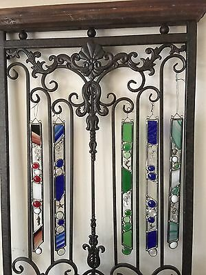 Handmade Stained Glass Suncatcher - Signed by Artist Audrey Lima