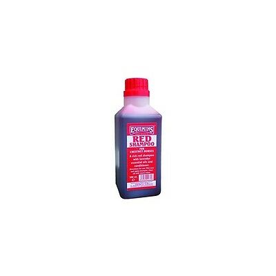 Equimins Red Shampoo For Chestnuts - 500ml - Shampoos & Conditioners