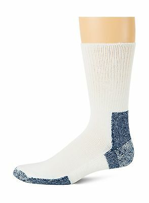 Thorlo Men's Socks Running Crew Sock White 13 New