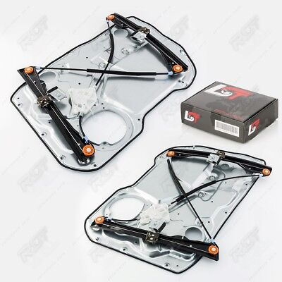 2x Window Regulator Metal Plate Front Left Right for Seat Ibiza 4 IV 6L 4/