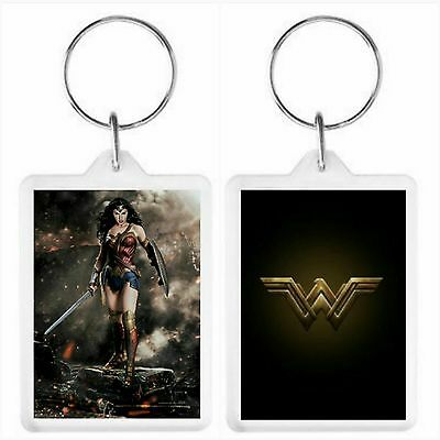 Wonder Woman Key Ring 50 x 35mm. Donation made to Charity.