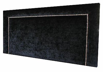 New  Upholstered Studded Bedhead/headboard King Size Made To Order