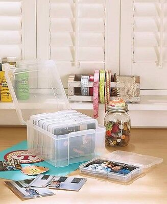 600 Photo Organizer Case Safe Storage Box Sorter Picture Memory Keeper