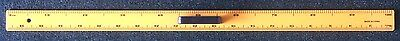 LARGE 100cm (1 METER) MEASURE RULER WITH HANDLE, DUAL MARKED INCHES & CM PLASTIC