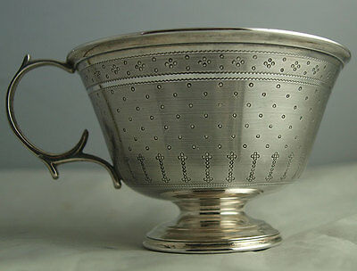 Elegant French Solid Silver Cup - 108g - Charles Herleux C.1900