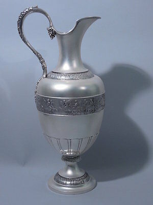 Tiffany Ewer - Antique Neoclassical Pitcher -  American Sterling Silver
