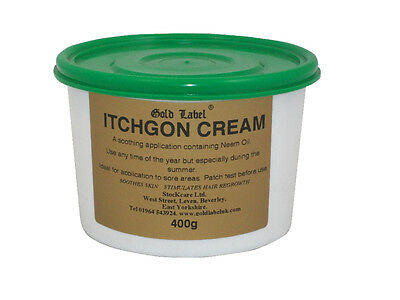Gold Label Itchgon Cream - 400 g - Fly, Louse & Insect Control