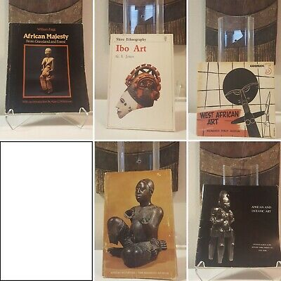 Fine African Art 6-book bundle Ibo Igbo Mask Figure Sculpture Statue