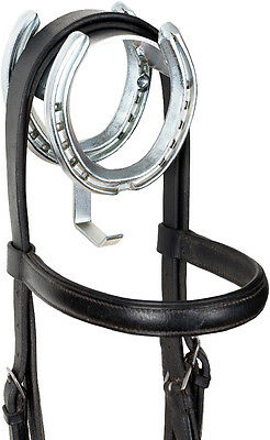 Stubbs Bridle King - Bright Zinc Plated S2070Z - Tack Room Equipment
