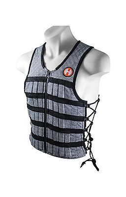 Hyperwear Hyper Vest PRO Unisex 10-Pound Adjustable Weighted Vest for Fit... New