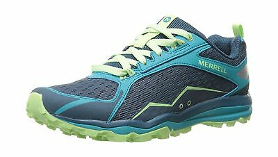 Merrell Women's All Out Crush Trail Running Shoe Bright Green 8.5 M US New